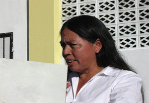 Telma Teresa Barahona Assists In Establishing COFOA As A Major Agent Of Change In San Juan Telezontes