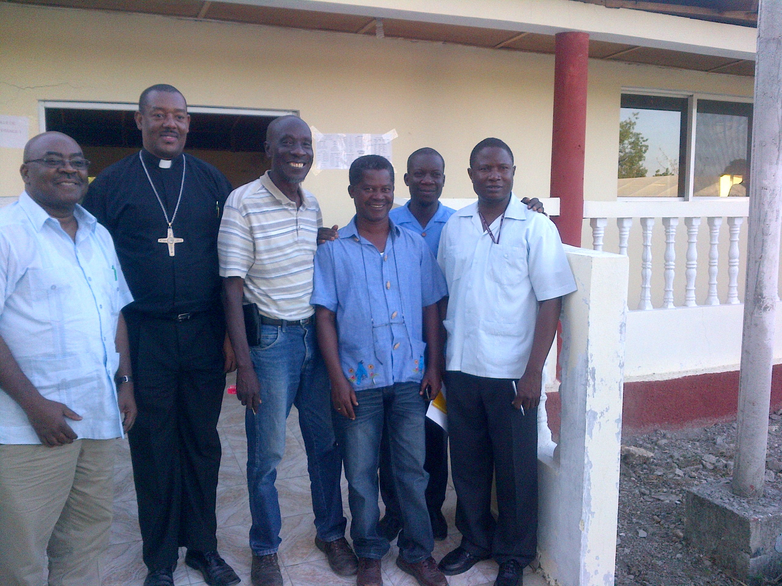 PICO Staff Meet With Haiti Leaders