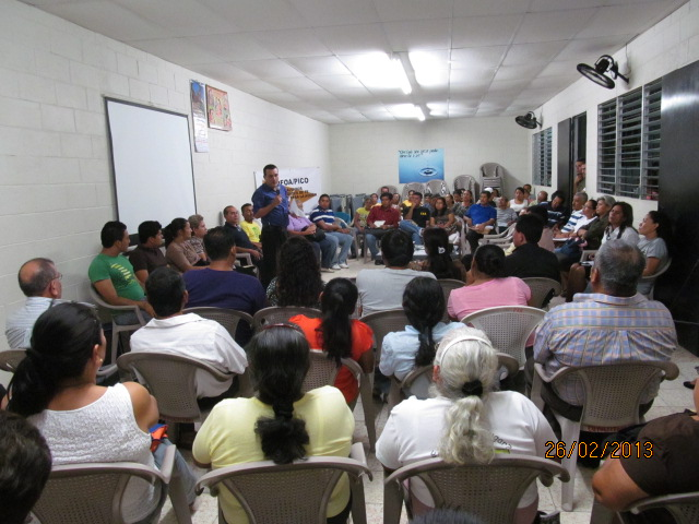 Cuyultitan COFOA Leaders Bring Their Mayor To An Accountability Meeting
