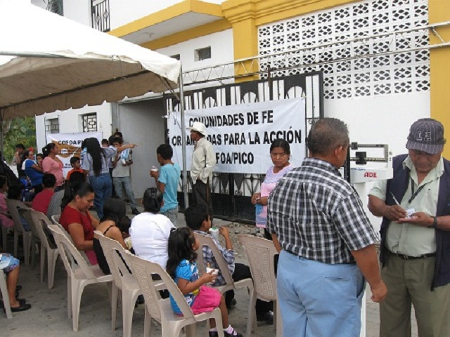 COFOA San Juan Tepezontes Holds A Major Health Fair