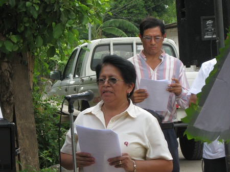 Martha Gomez Vda. Batres Builds COFOA's Impact In San Pedro Nonualco