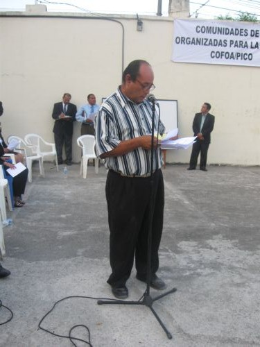 Octavio Polio Builds COFOA's Relationships And Expands Their Ministry In San Luis Talpa