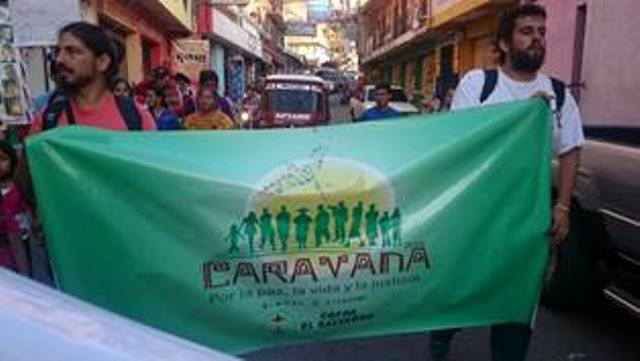 Fall Update From Central America: Caravan For Life, Justice And Peace