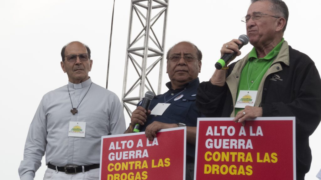 Bishop Barahona On Caravan To The United Nations: COFOA Continues To Fight The Failed War On Drugs