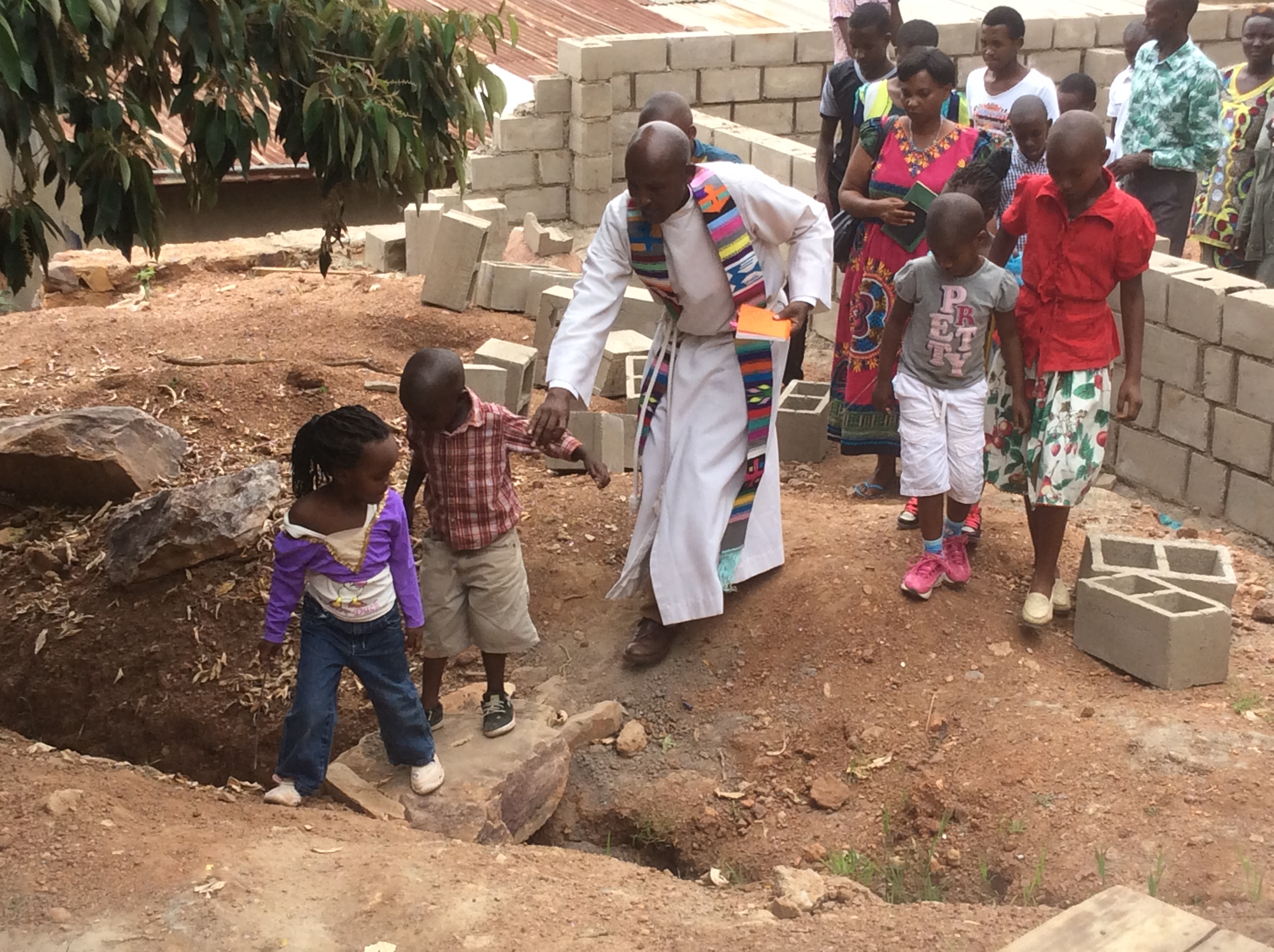 Organizing Serves Congregations: Kigali Parish Builds New Sunday School!