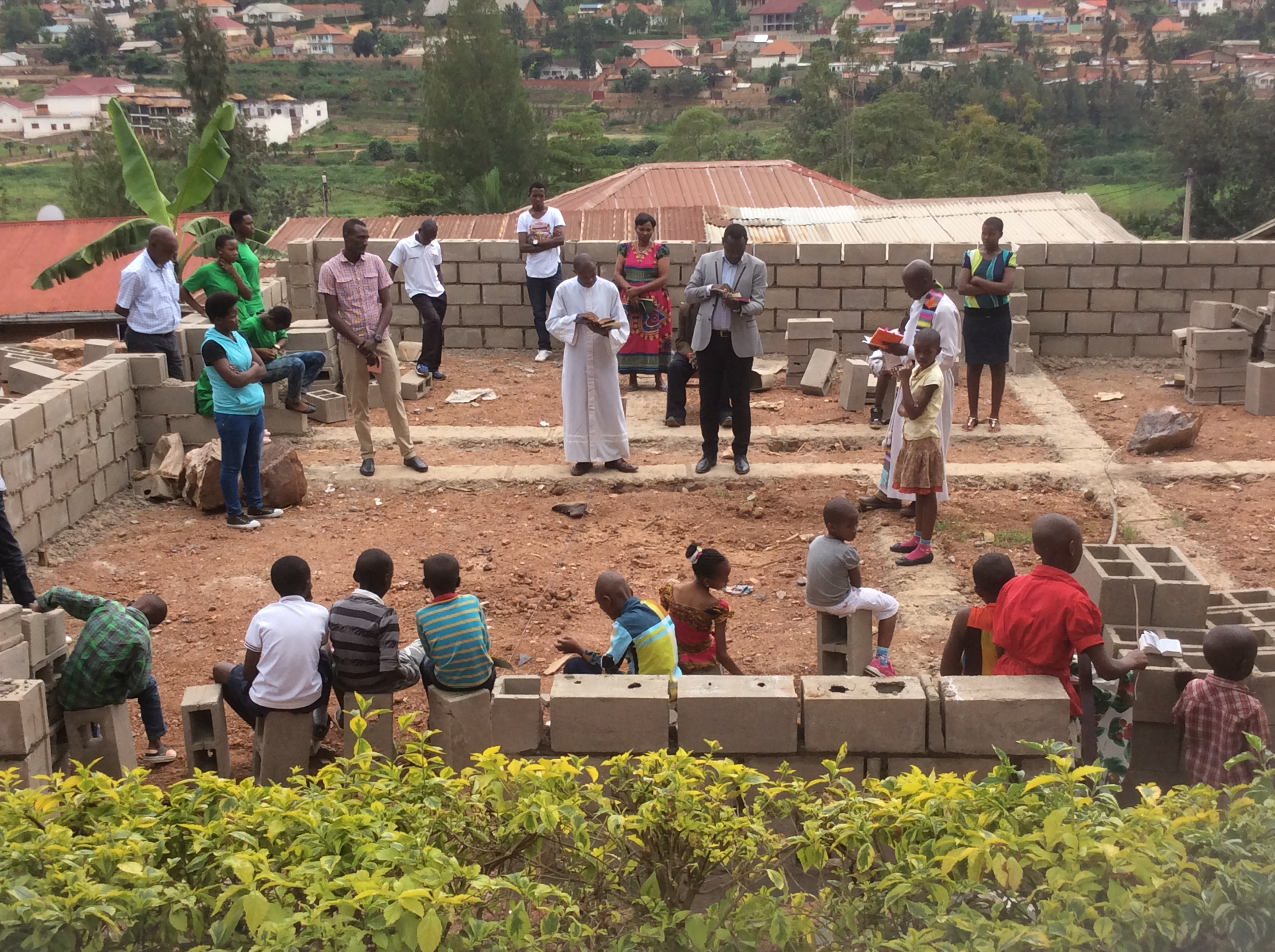 Partnership Is The Key Ingredient To Build New Clinic, School And LEADERSHIP In Rwanda