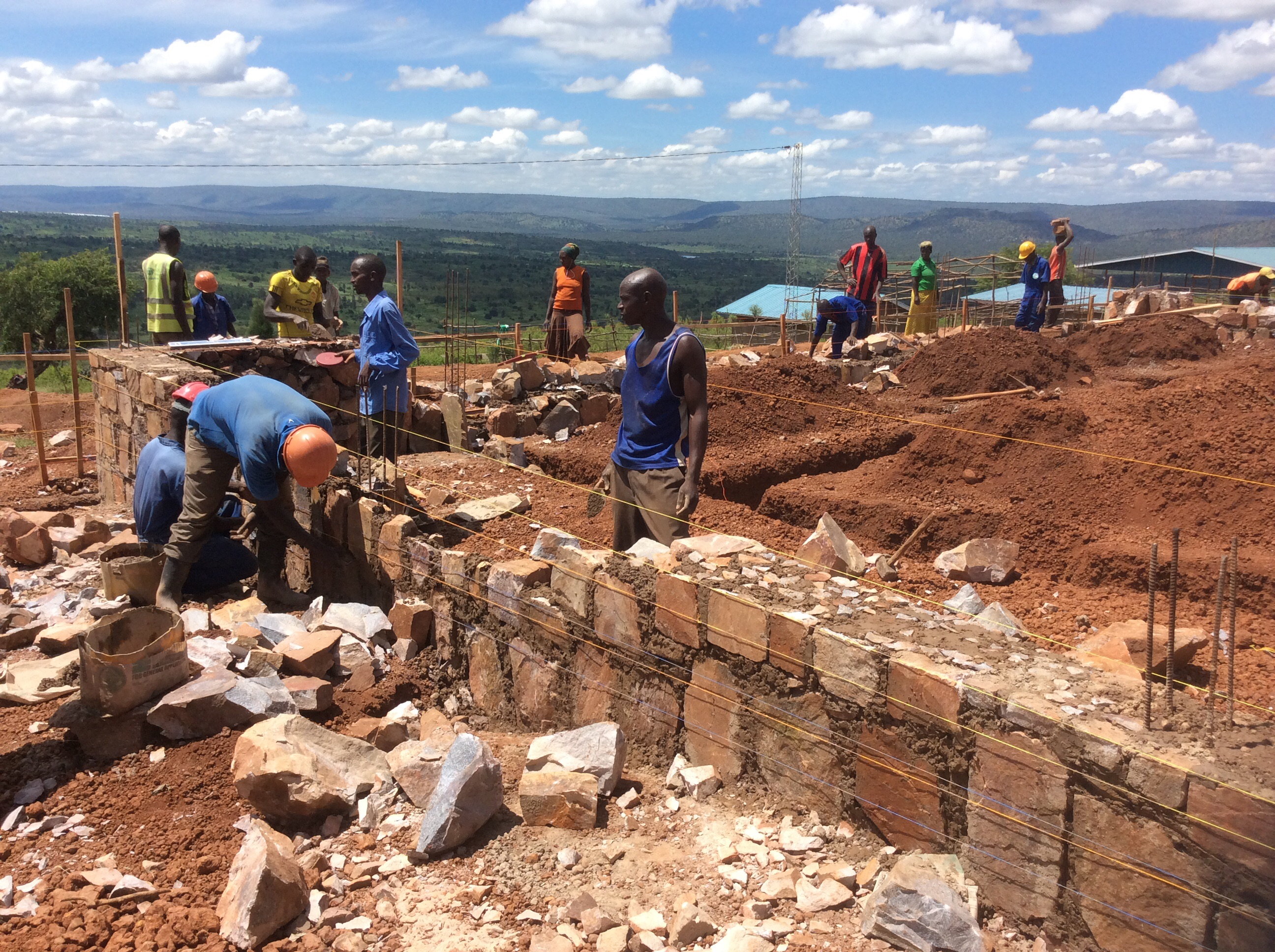 Amazing Progress In Rusumo: Clinic Foundation Is Completed!