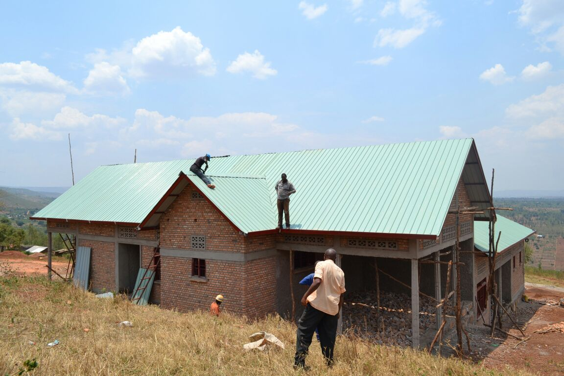 Fall Update From Rwanda: Finishing The Health Clinic In Rusumo