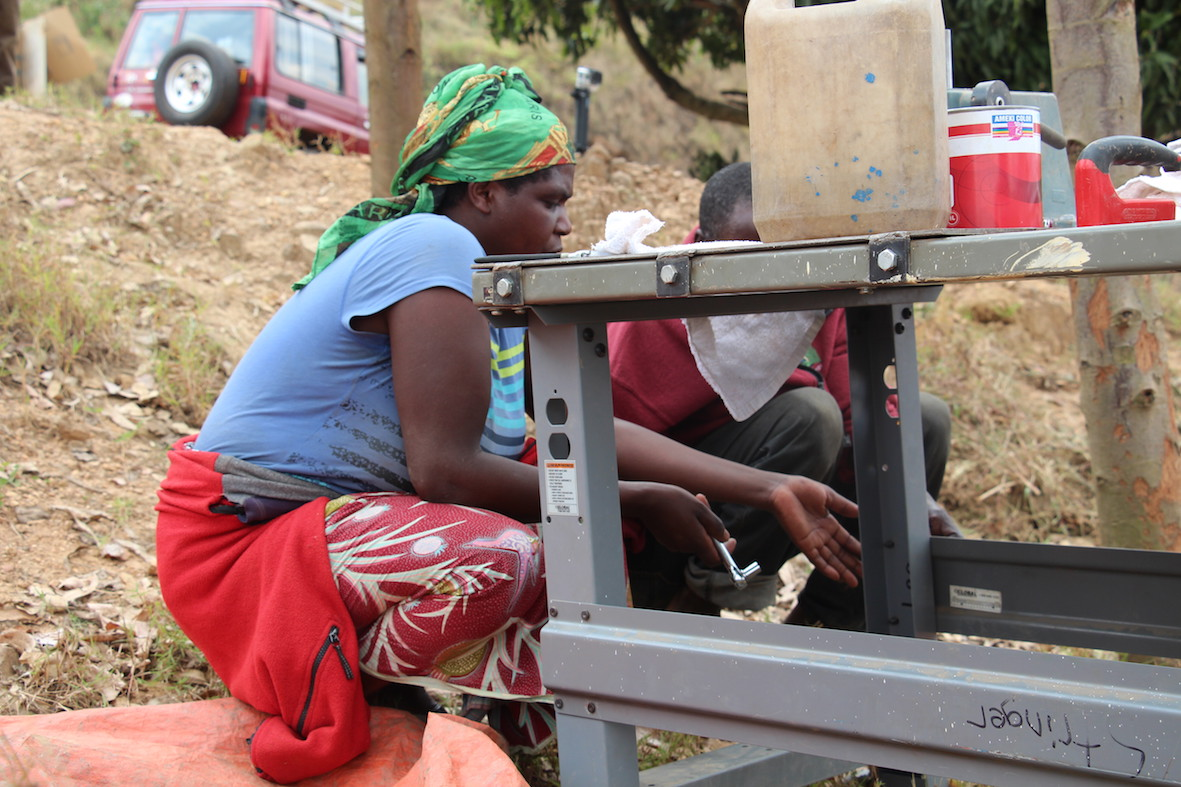 Fall Update From Rwanda: Making Roofing Tiles In Nyange