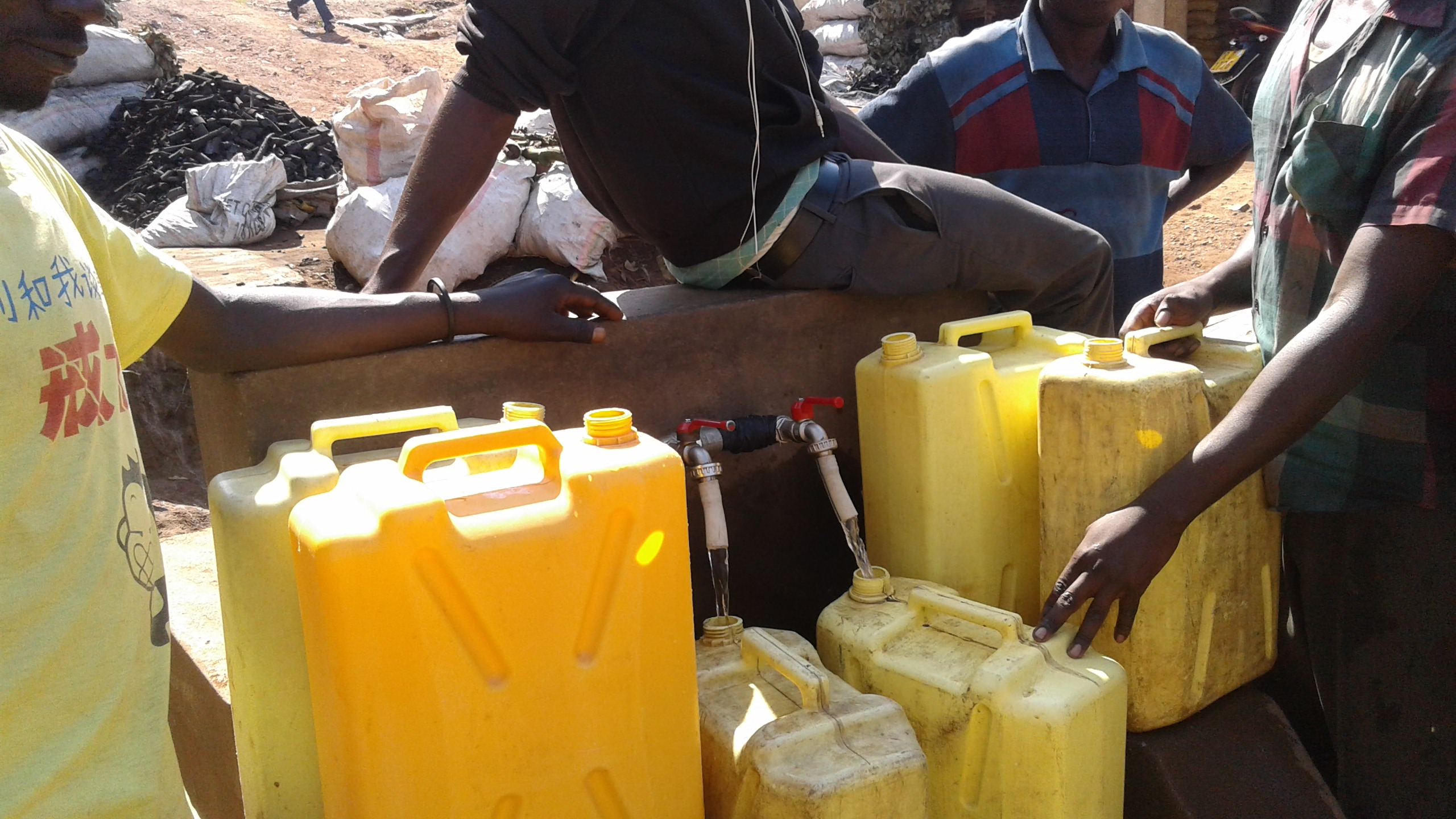 Water Comes To 30,000 Villagers In Mumeya