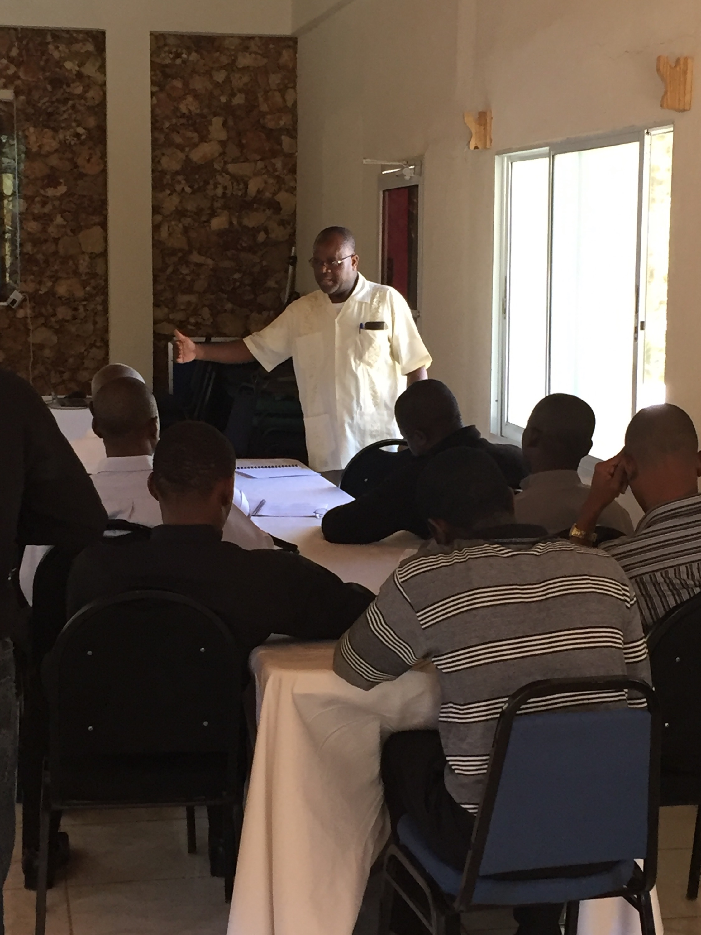OPODNE Provides Training For Haitian Clergy