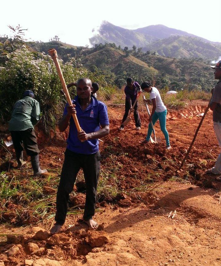 OPODNE Leaders Fix Roads And Clean Public Spaces