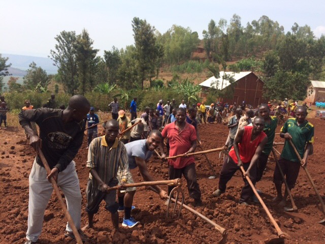 Land Is Cleared For A New Elementary School In A Community Trained By Mumeya Leaders