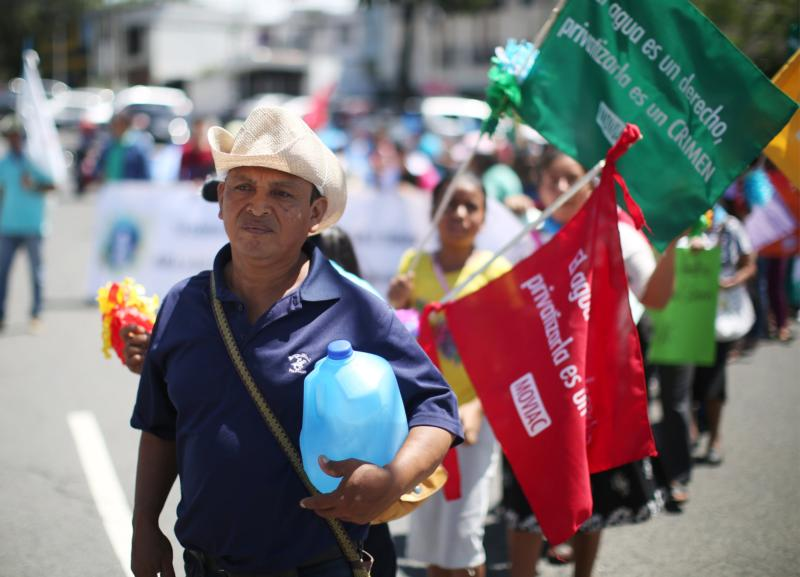COFOA Brings Grassroots Power To Coalition Fighting Privatization Of Water In El Salvador