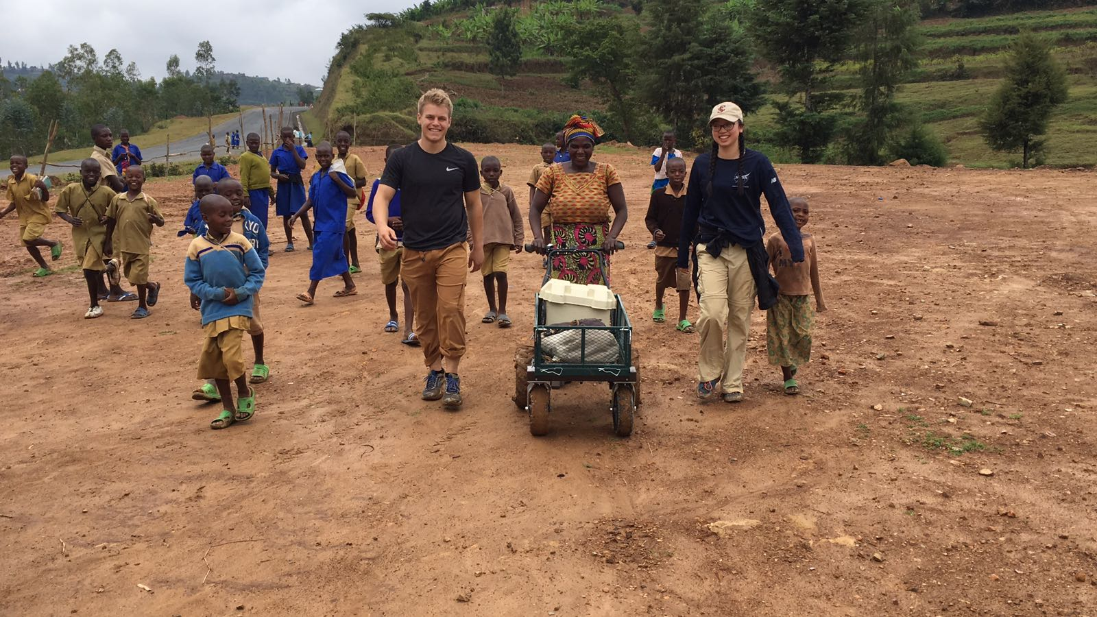 Student Engineers Give Nyange Tile-making Enterprise A Big Lift